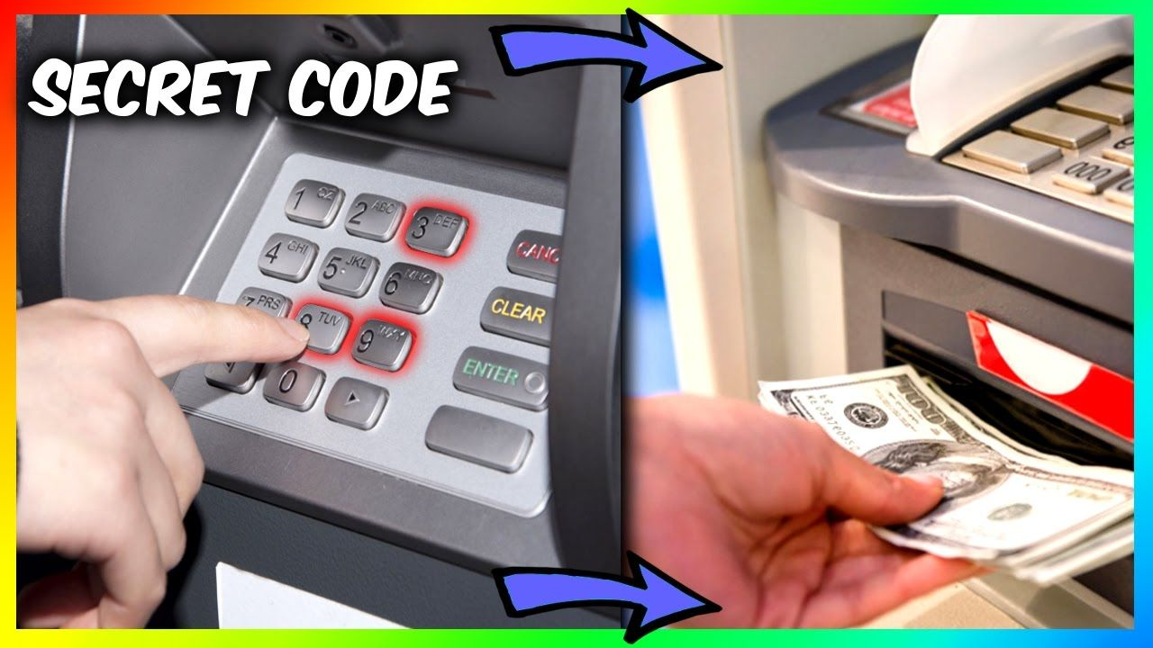 SECRET ATM MACHINE MONEY TRICK (Vending Machine Hacks and