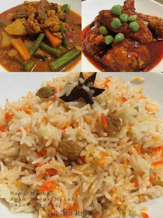 Resepi Nasi Minyak Untuk 20 Orang Resepi Merory Sedap Betul