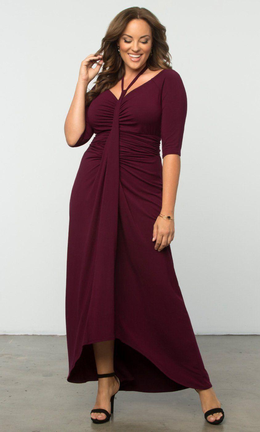 Divine Draped Maxi Dress Modelos Para Sacar Pinterest Maxi