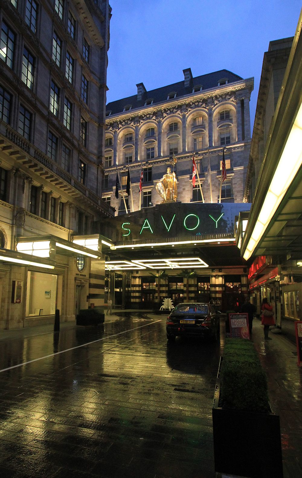 The Savoy Hotel Exterior Lighting By Design International