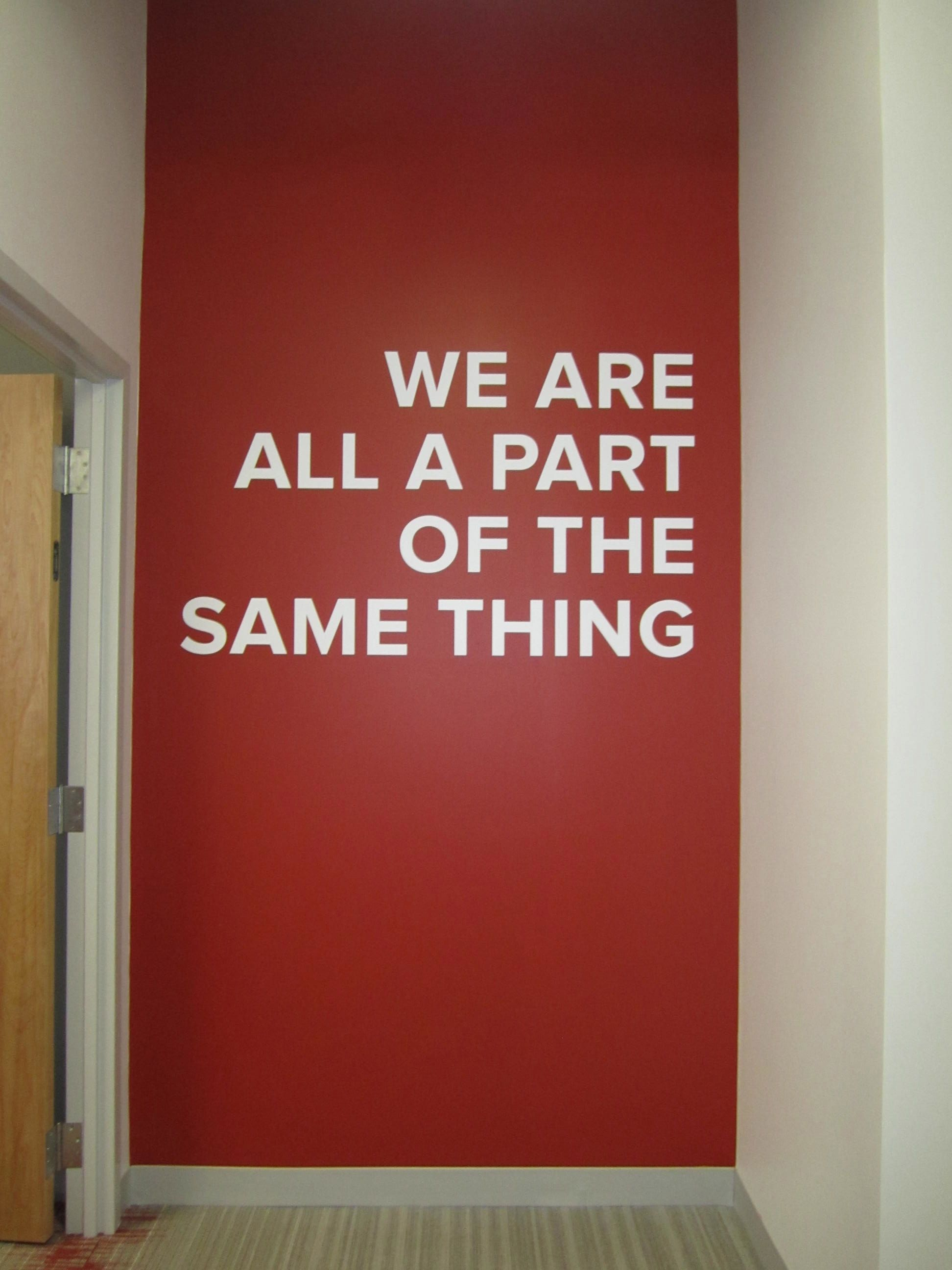 Inspiration For One Wall With Our Mission Statement To