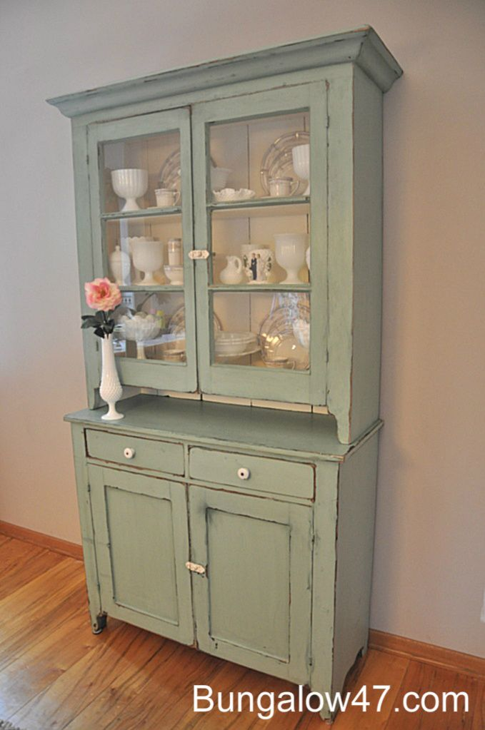 Cece Caldwell Chalk Paint From Bungalow 47 Love That Place Small China Cabinet