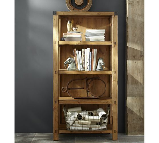 Hendrix Bookcase Pottery Barn Bookcase Home Office Furniture