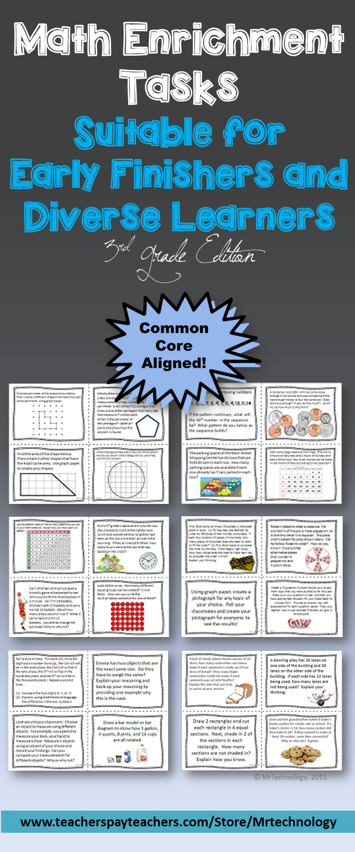 Math Enrichment Tasks Suitable for Early Finishers (3rd Grade ...