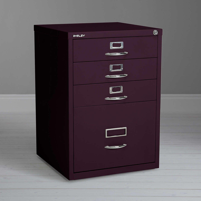 Bisley bi Filing Cabinet Cassis