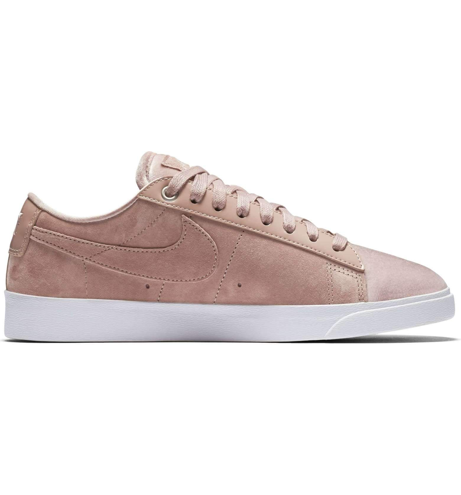 best cheap 6e74a a784d Womens Nike NIKE BLAZER LOW LX - Particle PinkWhiteSiltstone Red