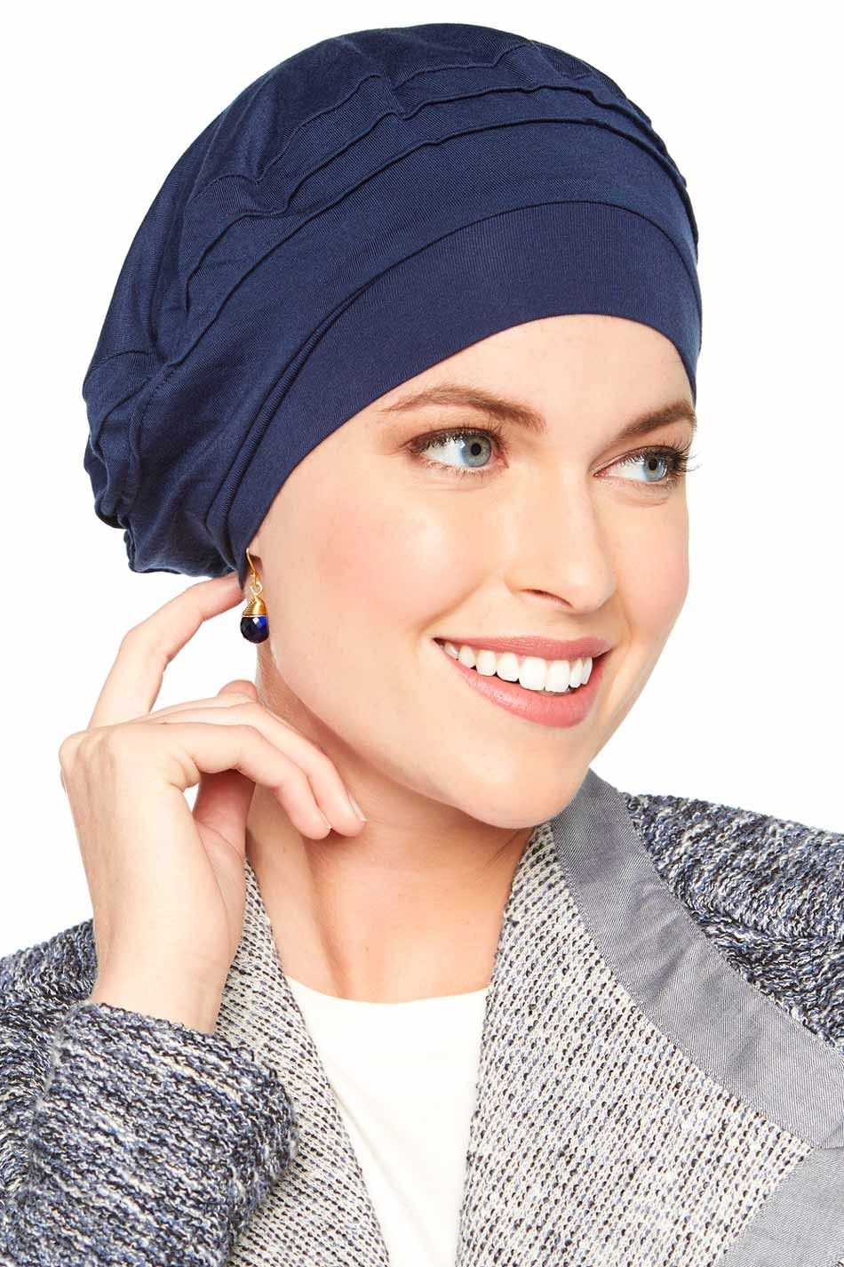 Triumph Beret in Luxury Bamboo by Cardani® - Slouchy Cap #chemohat ...