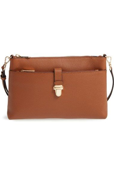 MICHAEL Michael Kors Large Mercer Leather Crossbody Bag available at #Nordstrom