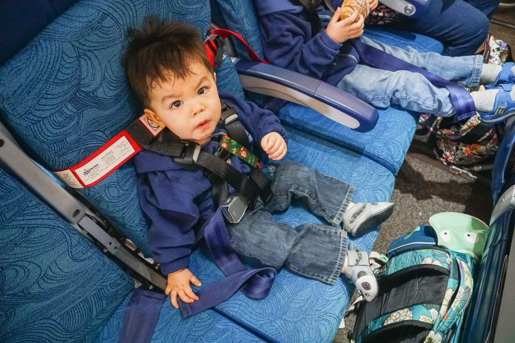 CARES Safety Harness Review for Flying with a Baby or