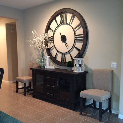 Oversized Paray 60 Quot Wall Clock Dining Room Clock Home