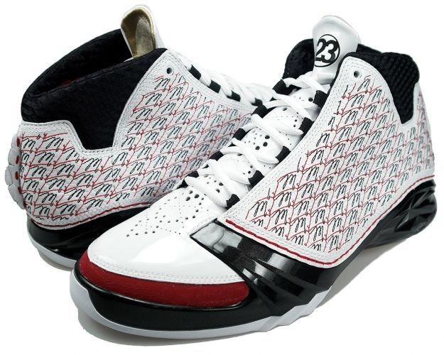 Air Jordan 23 (XX3 or XXIII) - All-Stars (White   Black - Varsity Red) e5d1651fd