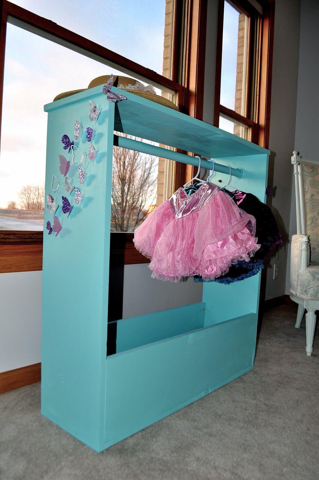 little girls dress up tower alwayschasinglife pinterest dress up storage dress up clothes. Black Bedroom Furniture Sets. Home Design Ideas