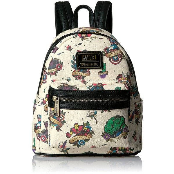 Loungefly Marvel Tattoo Flash Mini Backpack ( 57) ❤ liked on Polyvore  featuring bags, backpacks, daypack bag, loungefly backpacks, mini backpacks,  ... 89670b92979