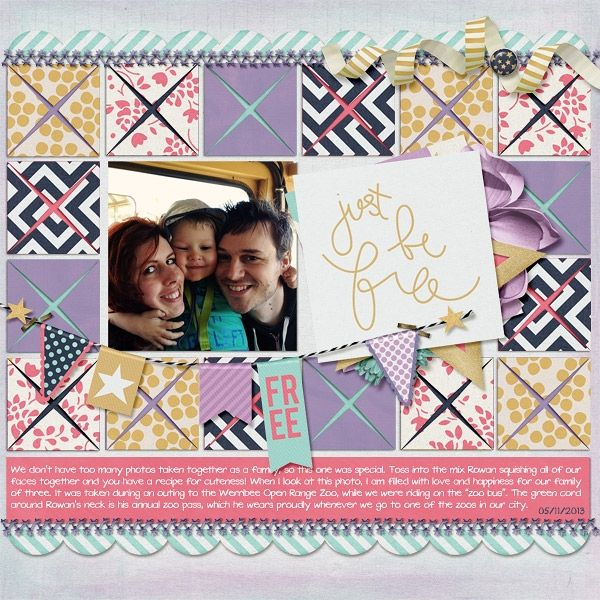 Wild Horses and Wild Horses Journal Cards by Tickled Pink Studio #tickledpink and Folded Square Templates by Scrapping with Liz Layout by aurian