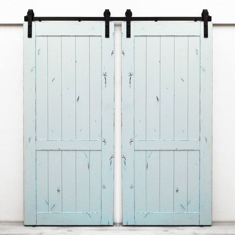 Shop Dogberry Collections D Coun 3682 Country Vintage Double Barn Doors At  ATG Stores