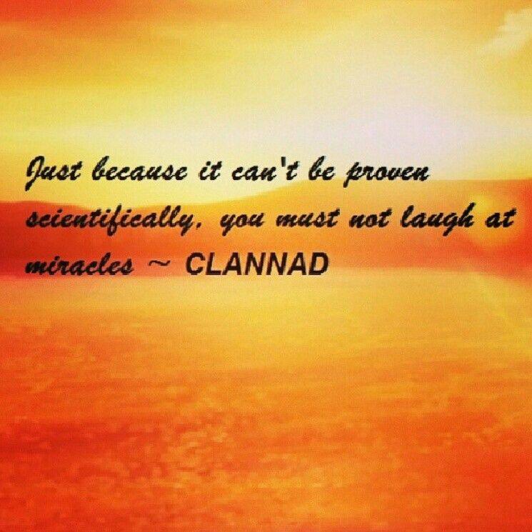 Clannad Quote | Clannad, Anime quotes