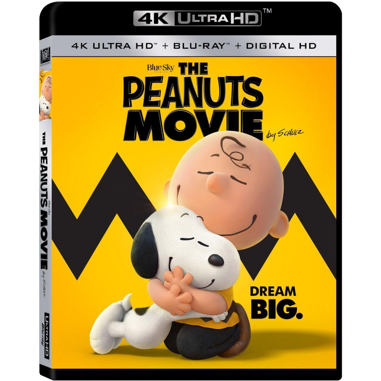 The Peanuts Movie [4K UHD Bluray] in 2020 Peanuts movie