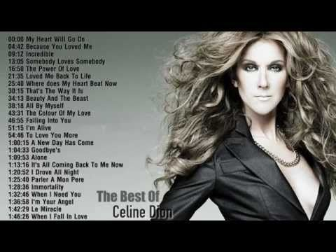 Celine Dion Best Songs Of Celine Dion Celine Dion S Greatest Hits Celine Dion Songs Celine Dion Greatest Hits Celine Dion Albums