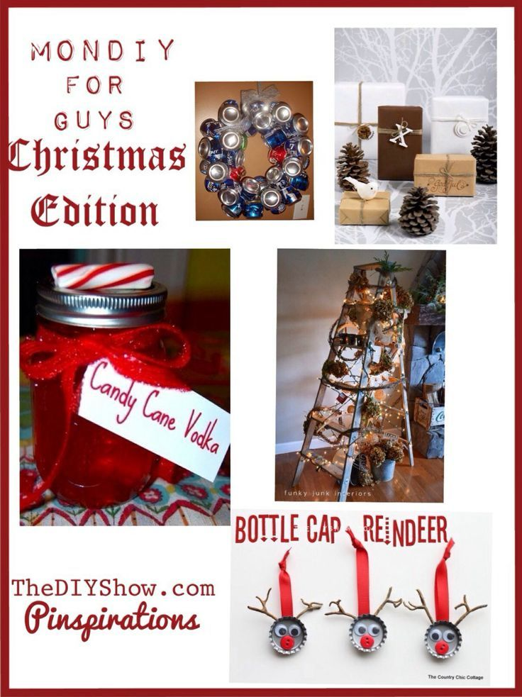 DIY for guys, for him, for men, crafts, Christmas gift ideas