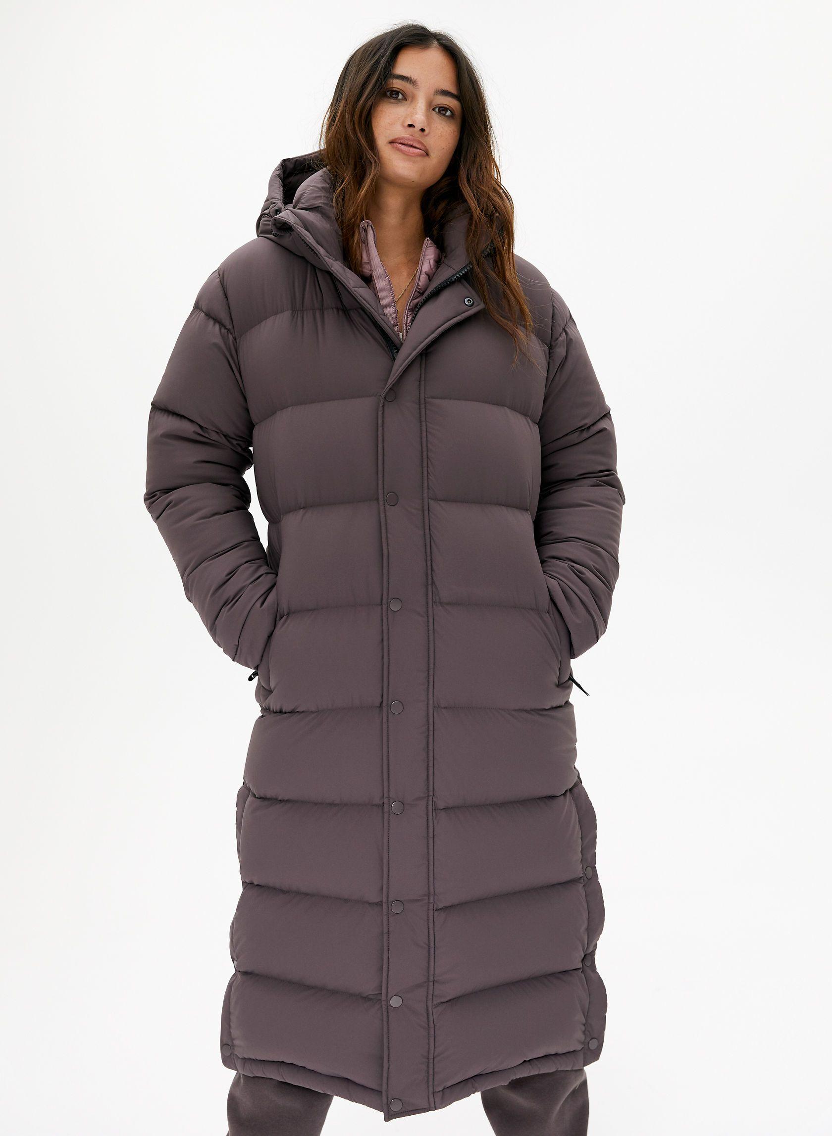 The Super Puff Long Puffer Jacket Style Winter Coat Parka Long Puffer [ 2295 x 1680 Pixel ]