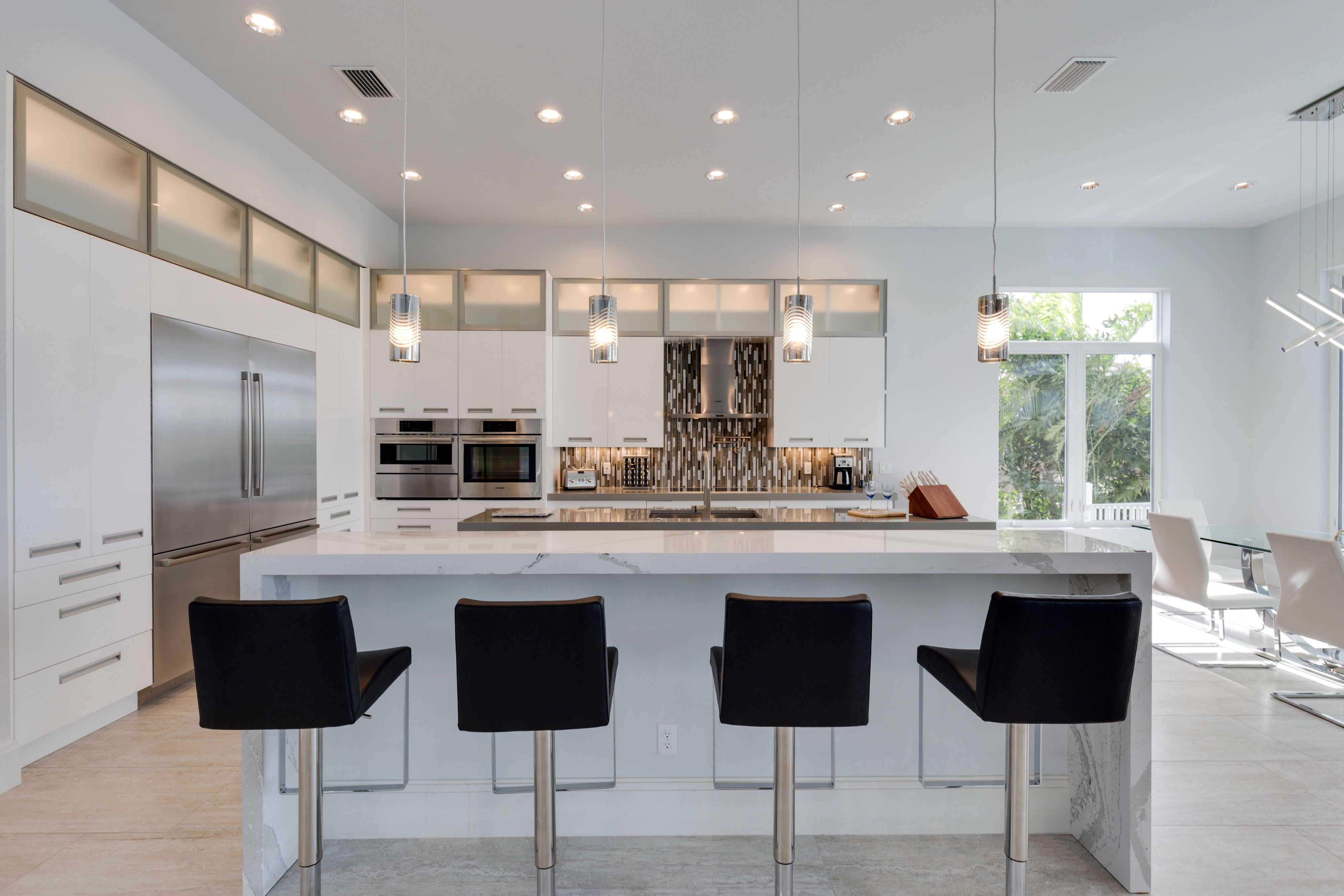 The Stylish Kitchen For The Luxus Floor Plan Located In Cape Coral Florida Stylish Kitchen Contemporary Kitchen New Home Construction