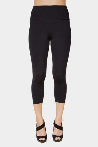 d568be0df7ebe6 Abby High Rise Short Legging (Black) #leggings #summer #love   Rune ...
