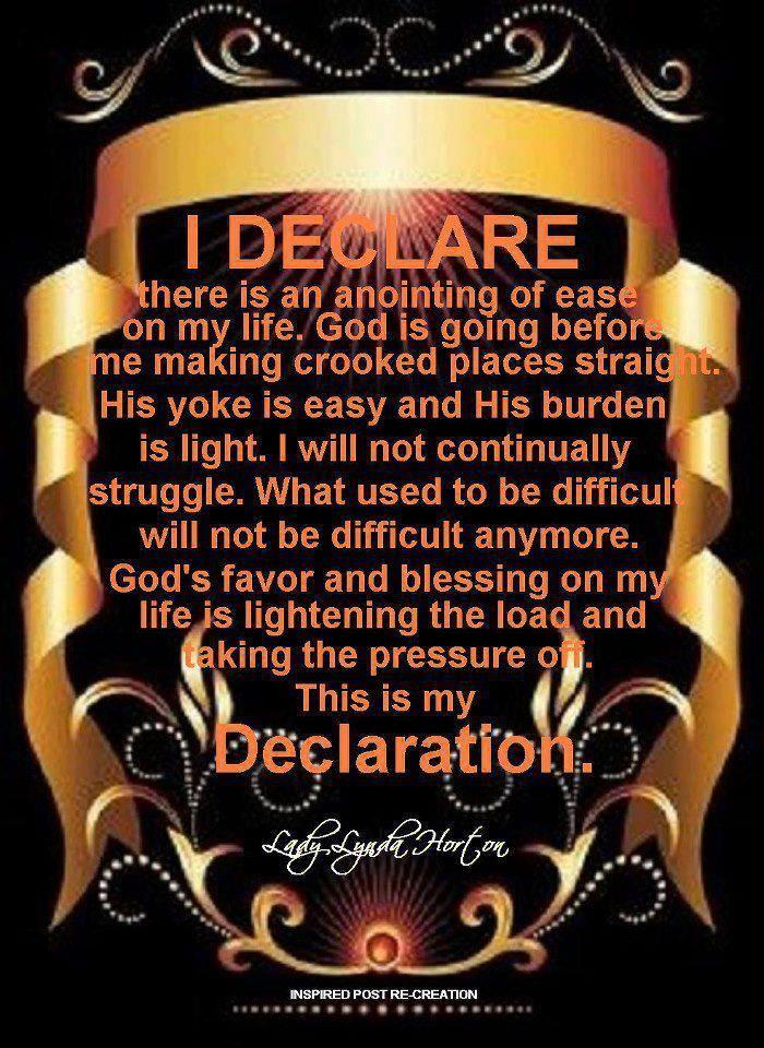 I DECLARE & DECREE    | Encouraging, Inspirational, Faithful