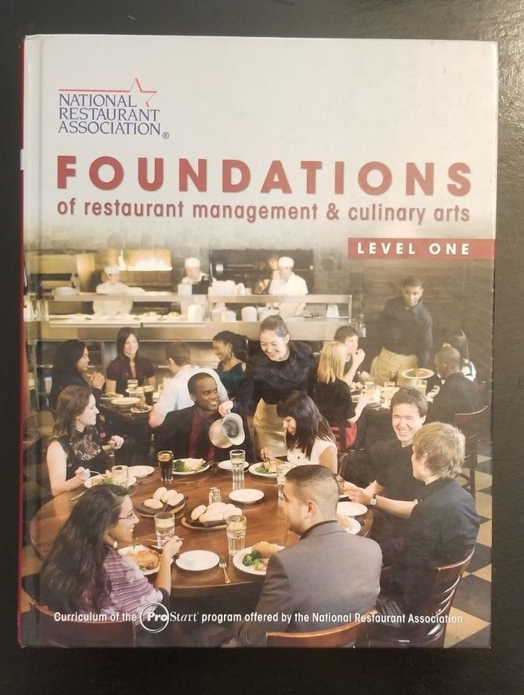 foundations of restaurant management culinary arts pre owned