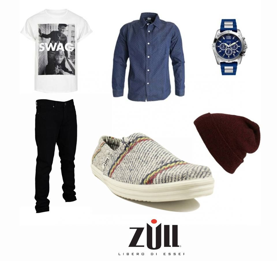 Estilo cómodo y casual con #calzado #Zull. #Moda #zapatos #caballero.   Cómpralos aquí: http://ow.ly/YCKrV