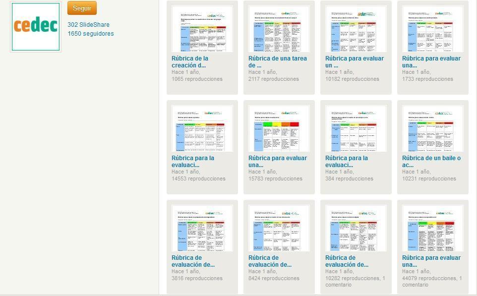 122 Rúbricas de Evaluación para Primaria, Secundaria y Bachillerato ...