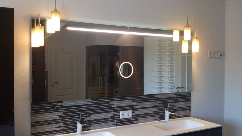Amazing Oltre fantastiche idee su Badspiegel nach ma su Pinterest Ikea spiegel bad Waschtischplatte holz e Ikea badspiegel