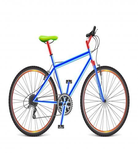 تصميم دراجة هوائية جميلة ملف مفتوح Graphic Design Logo Design Bicycle