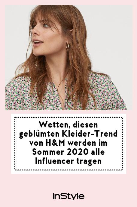 Wetten, diesen geblümten Kleider-Trend von H&M werden im Sommer 2020 alle Influencer tragen