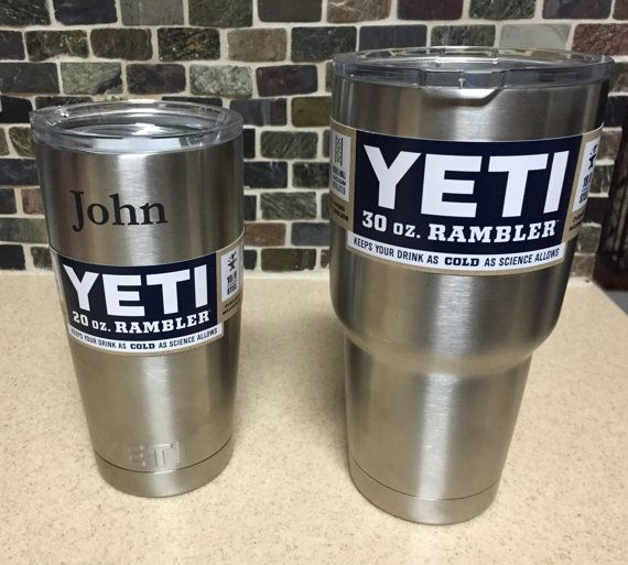 Cowboys Inspired Star Personalized Yeti Tumbler | Cowboys, Stars ...