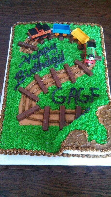 2 Year Old Birthday Cake : birthday, Birthday, Holiday, Birthday,, Train, Cake,