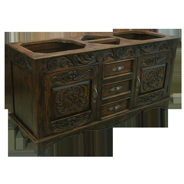 Duquesa Vanity | Spanish Colonial Vanities | Spanish Colonial Accessories |  Spanish Colonial Furniture