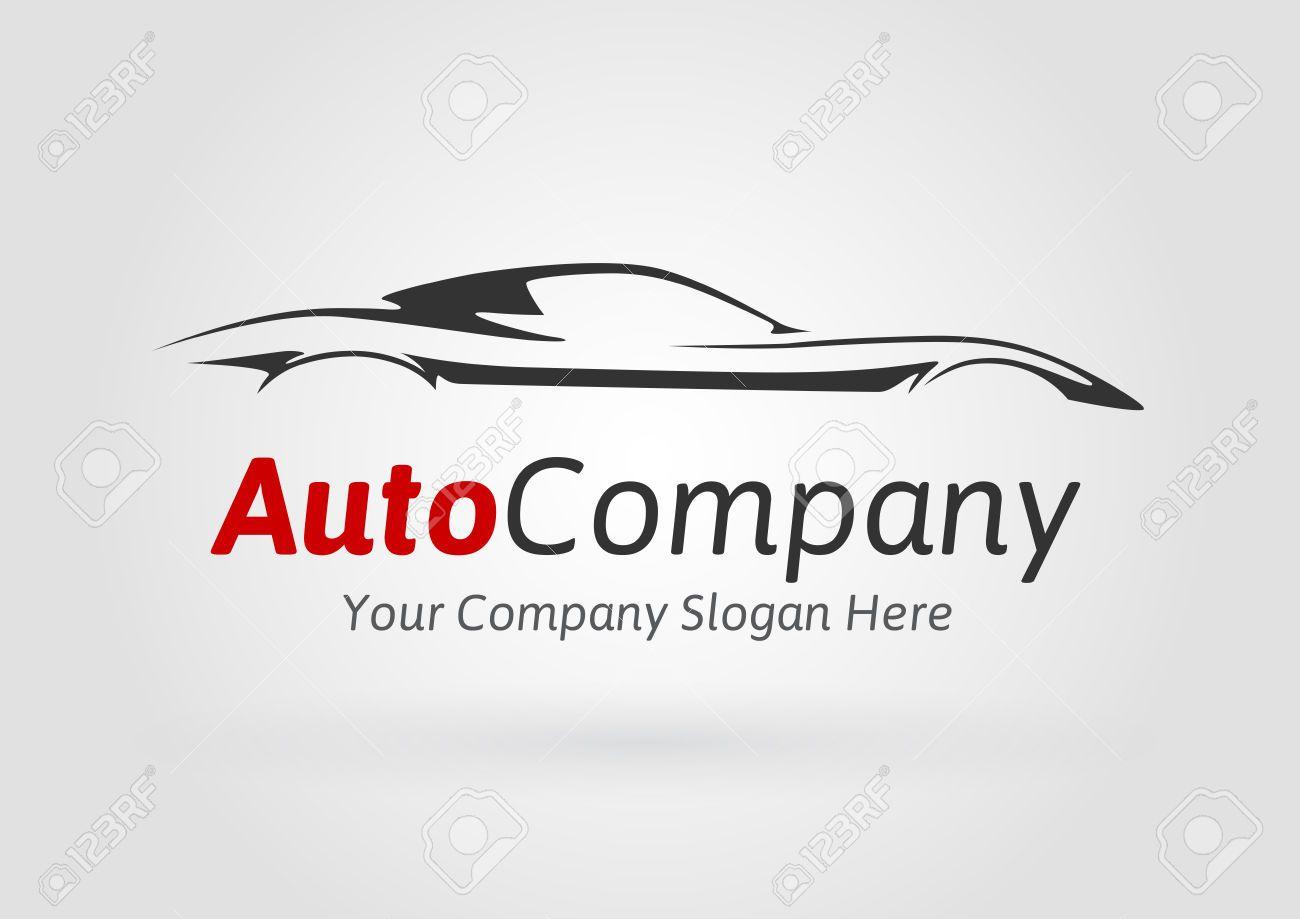 49705604-Modern-Auto-Vehicle-Company-Logo-Design-Concept-with ...
