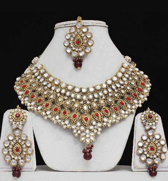 Indian Wedding Jewelry Set Indian Jewelry Pinterest Indian