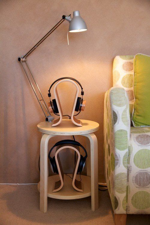 IKEA Hack: Headphone Side Table
