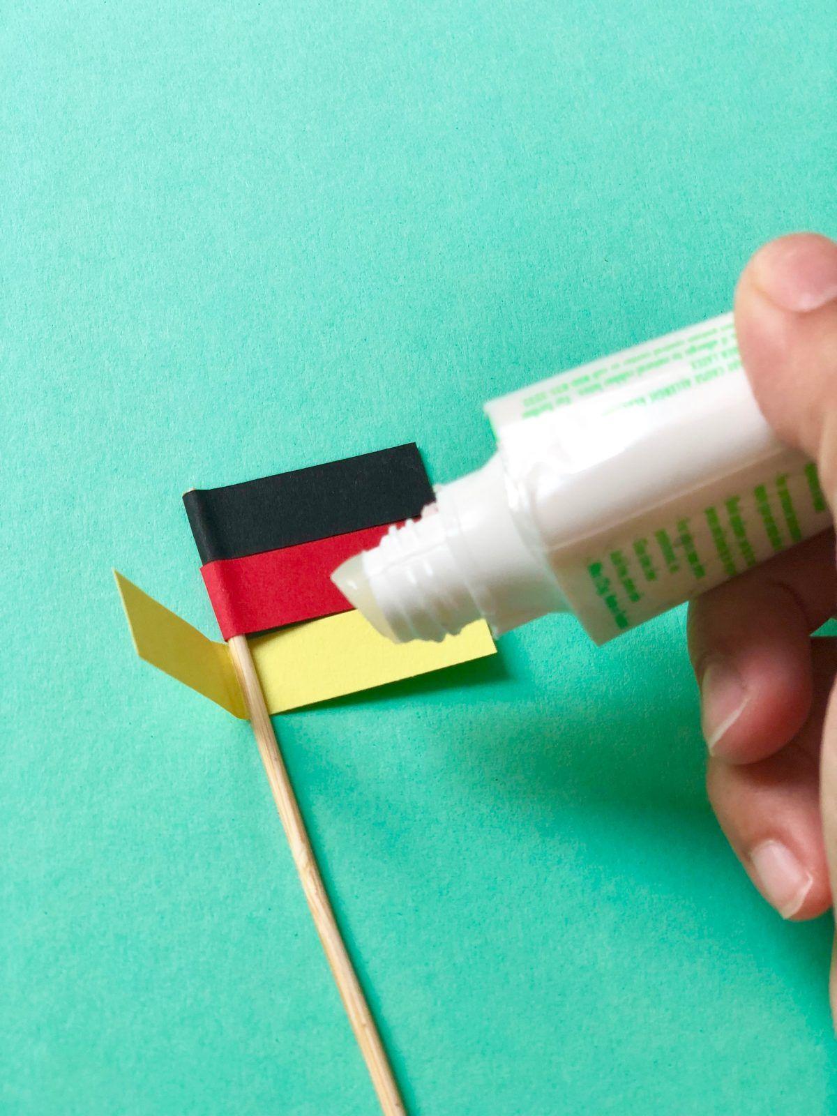 Deutschland Fahne Als Deko Selber Machen In Zusammenarbeit Mit Otto