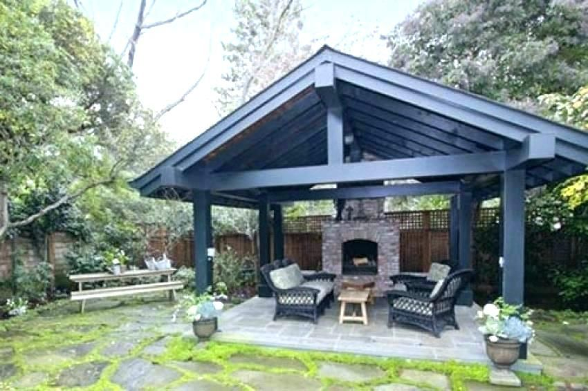 Outdoor Pavilion Plans Backyard Kitchen S Pertaining To Idea Ideas