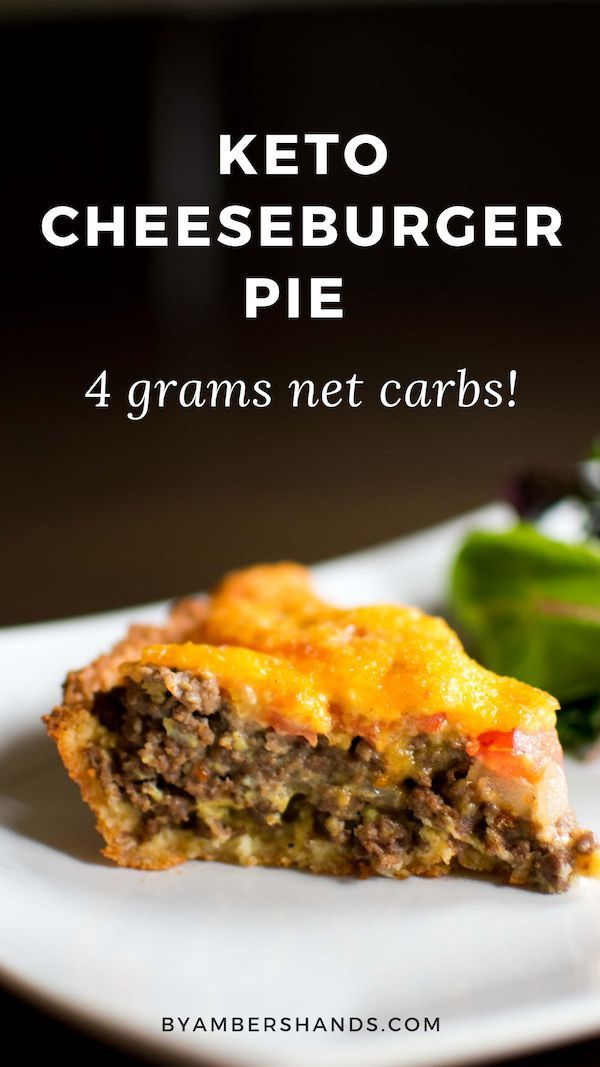 Low Carb Cheeseburger Pie : Easy Keto Weeknight Dinner images