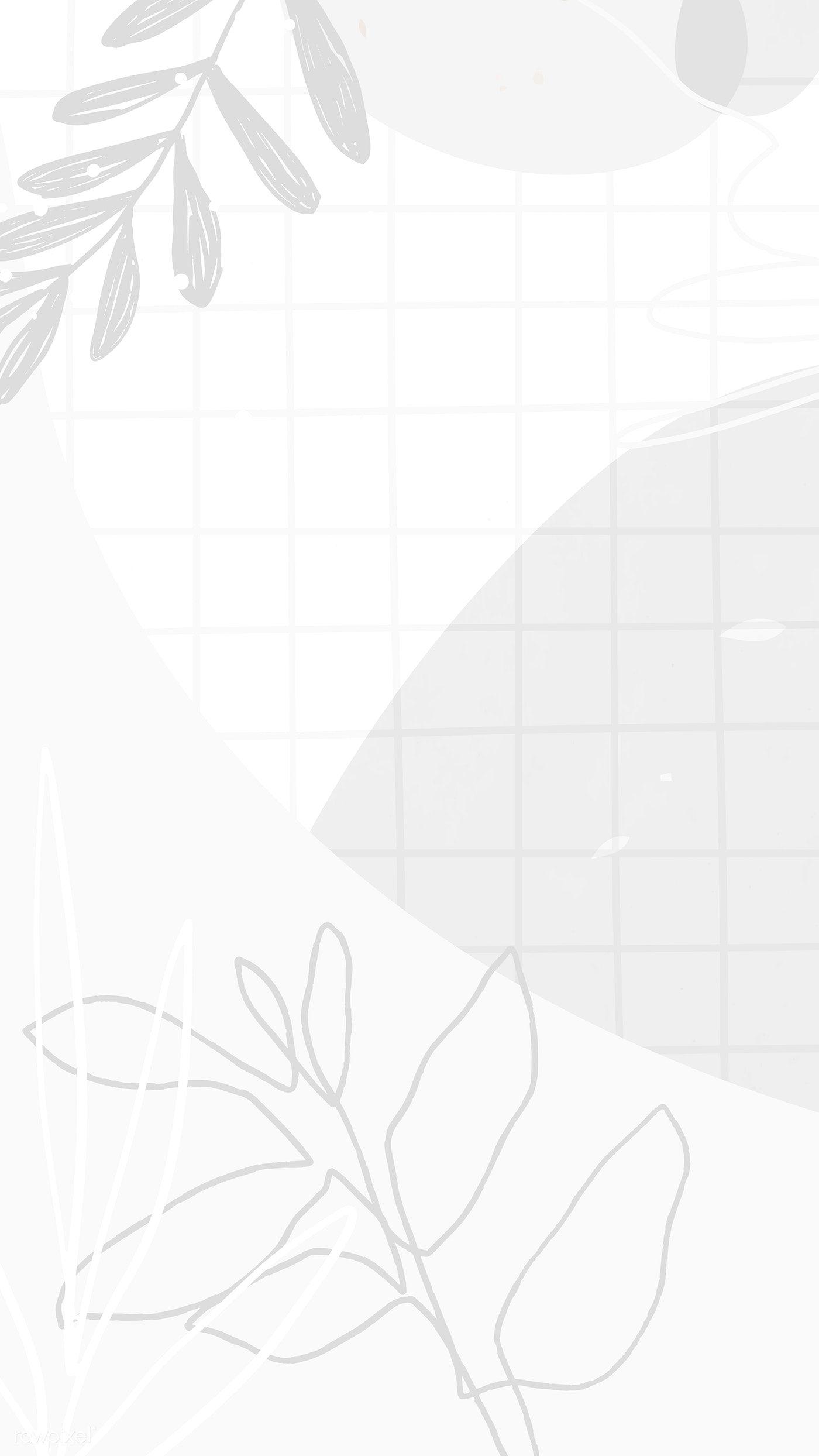 Download Premium Vector Of Abstract Memphis Mobile Phone Wallpaper 2221320 In 2020 Minimal Wallpaper Minimalist Wallpaper Cute Patterns Wallpaper