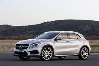 2015 Mercedes GLA AMG is based on the new CLA chassis, etc