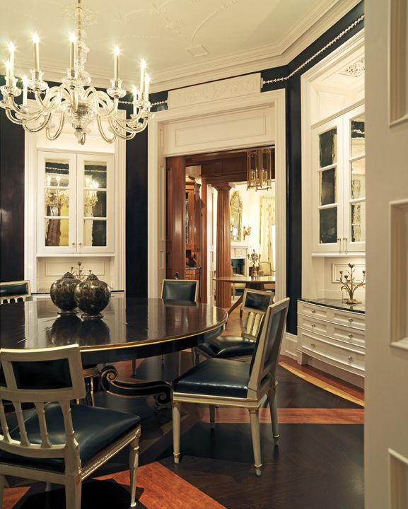 Greek Revival Interiors  Private Residence Boston Madell Adorable Boston Private Dining Rooms Design Inspiration