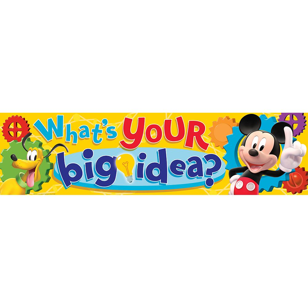 Classroom Banner Ideas : Mickey mouse clubhouse what s your big idea classroom