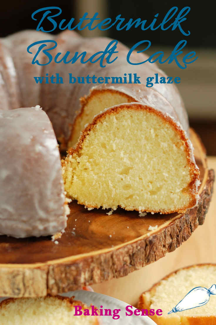 Buttermilk Bundt Cake With Buttermilk Glaze Recipe Bundt Cake Baking Bundt Cakes Recipes