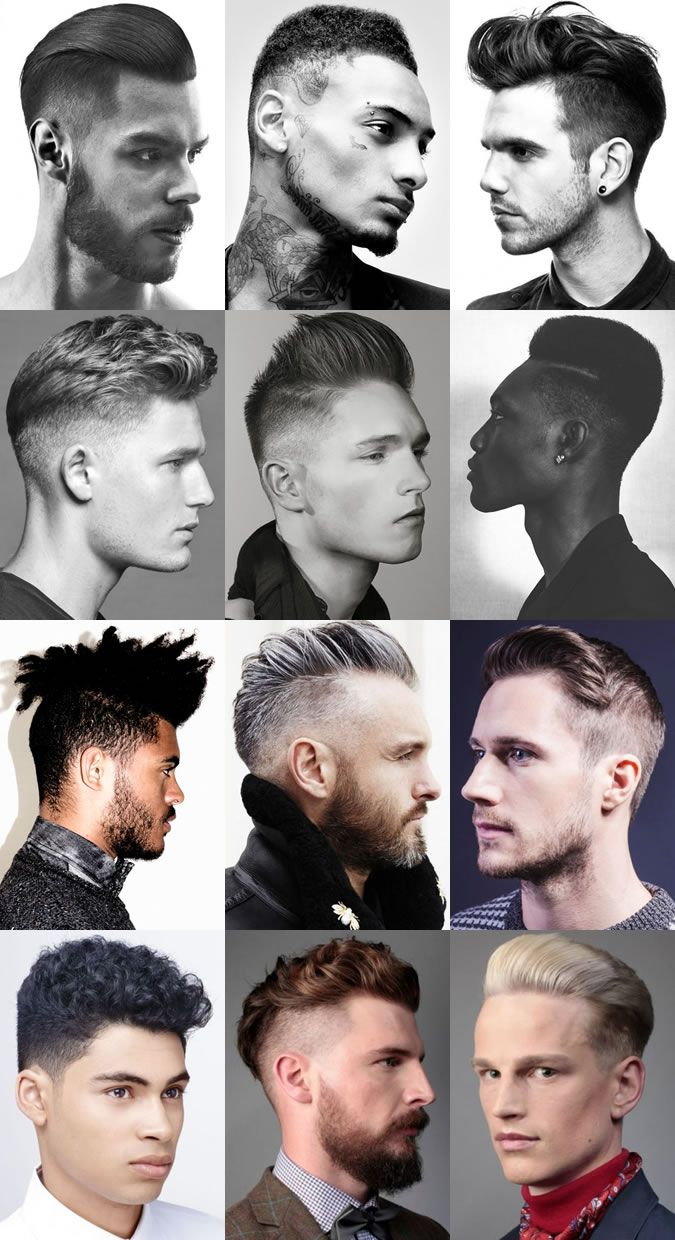 men's disconnected party season hairstyles | dandy holiday