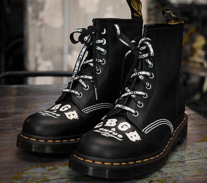 CBGB x Dr. Martens 1460 Leather Boots