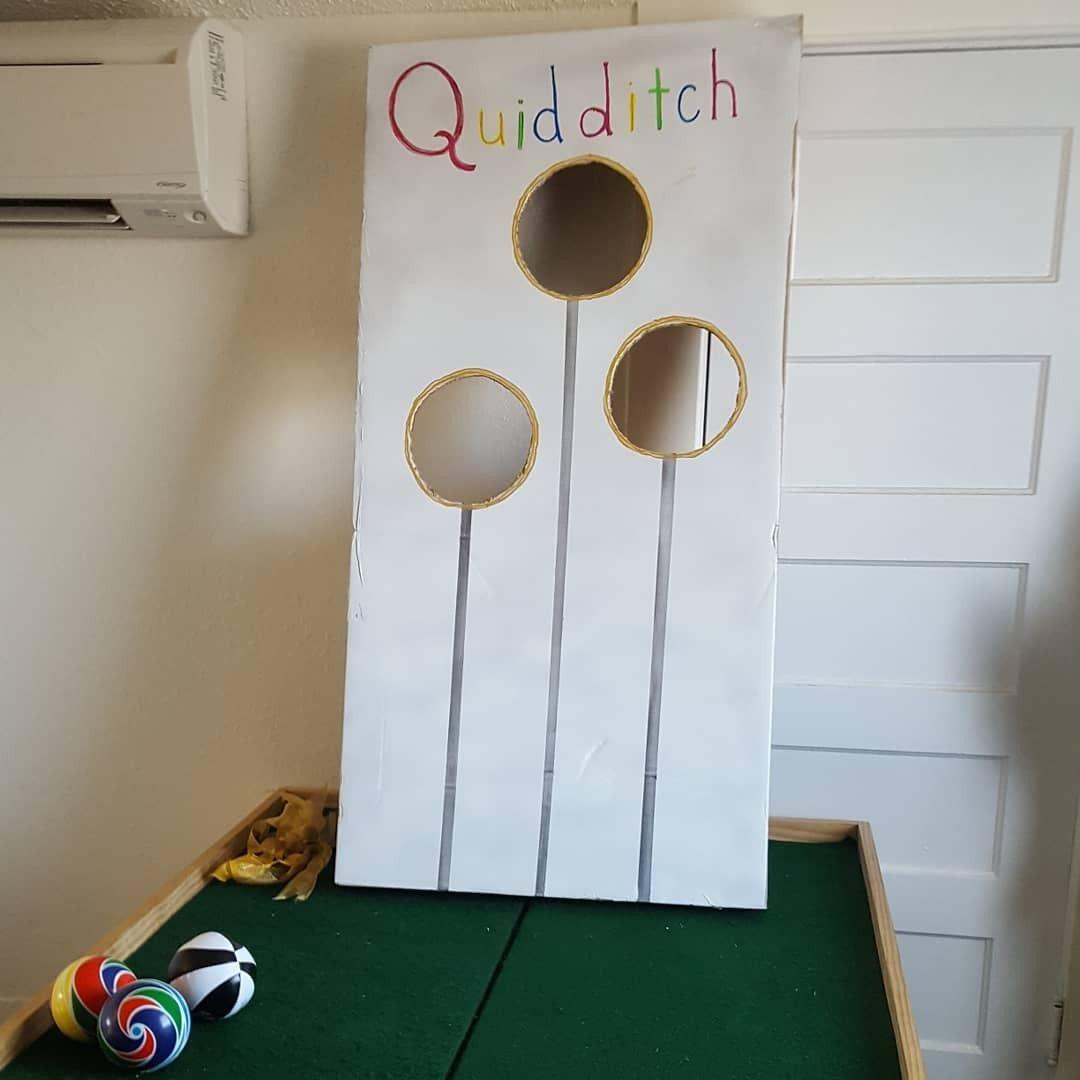 Hogwarts Quidditch Board for indoor Harry Potter birthday